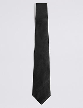 Corbata de sarga, NEGRO, catlanding