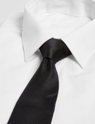 Однотонный мужской галстук Marks & Spencer