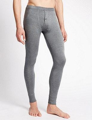2 Pack Heatgen™ Thermal Long Pants, GREY, catlanding