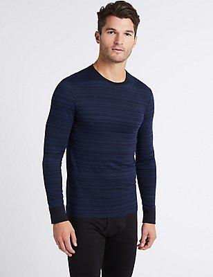 2 Pack Long Sleeve Vests, BLUE MIX, catlanding