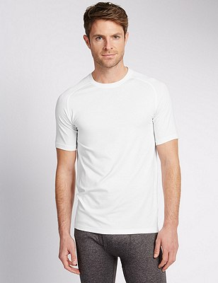 Climate Control Base Layer, WHITE, catlanding