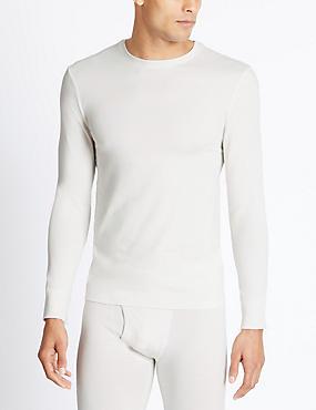 2 Pack Heatgen™ Long Sleeve Vests, IVORY, catlanding