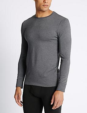 2 Pack Heatgen™ Long Sleeve Vests, GREY, catlanding