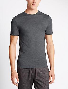 2 Pack Heatgen™ Thermal Short Sleeve Vests, GREY, catlanding