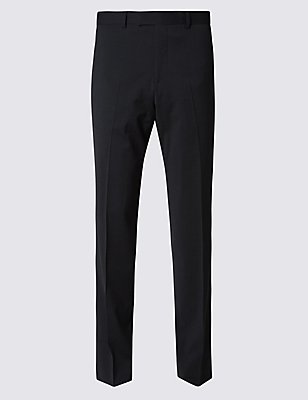 Charcoal Regular Fit Trousers, CHARCOAL, catlanding