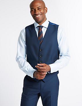 Indigo Tailored Fit Waistcoat, INDIGO, catlanding