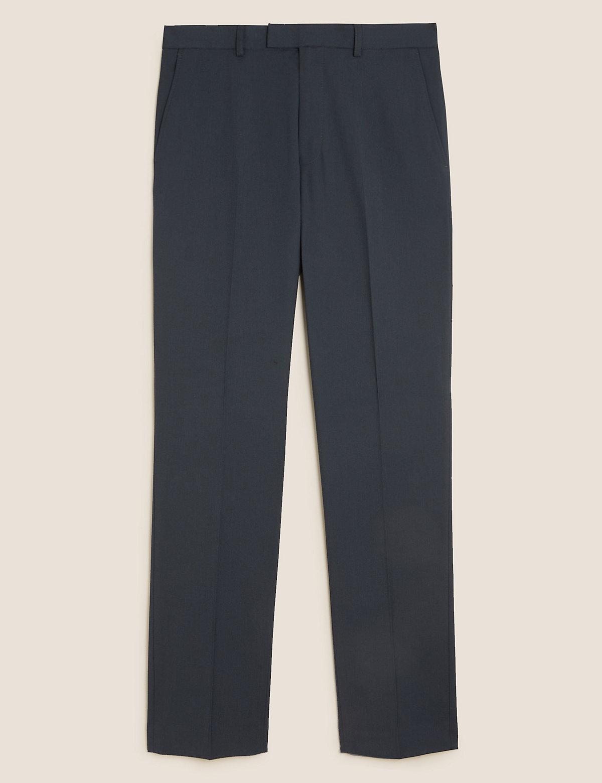 Узкие мужские брюки с добавлением эластана