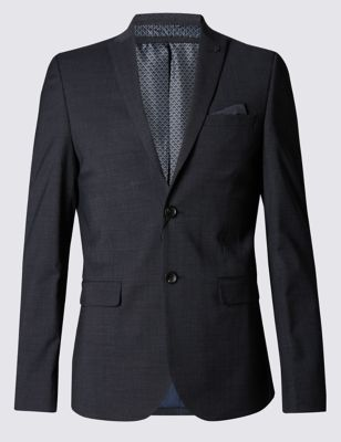 Приталенный пиджак Shadow с технологией Buttonsafe™