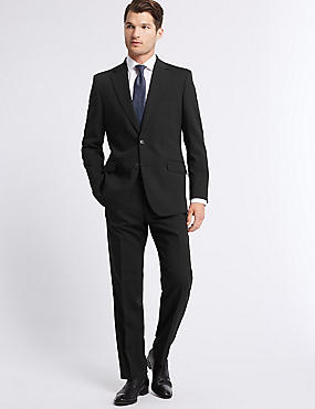 Grandes tailles – Veste noire coupe standard, NOIR, catlanding