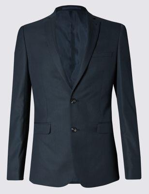 Текстурный пиджак слим