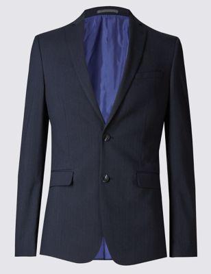 Пиджак Modern Slim с 2 пуговицами в полоску Limited Edition T153359