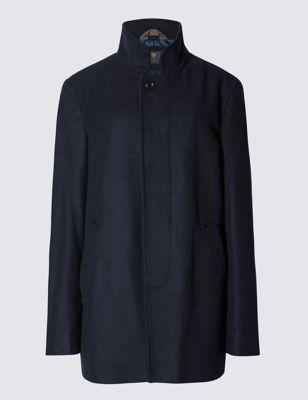 Пальто Buttonsafe™ с добавлением шерсти