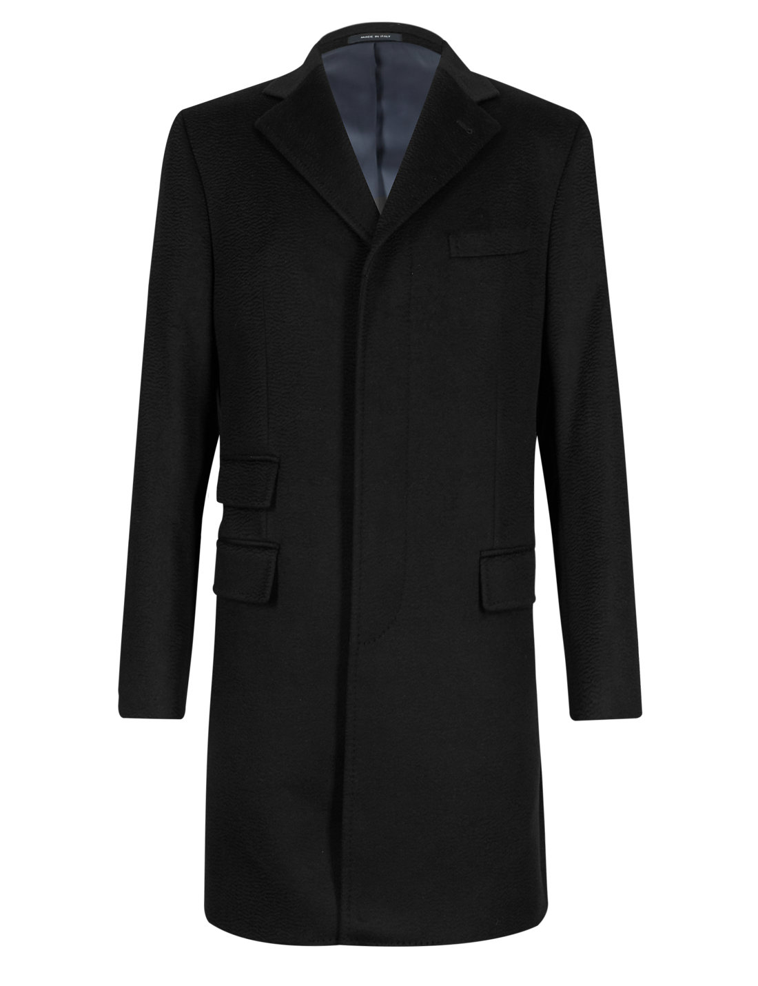 Made In Italy with Italian Fabric Pure Cashmere Coat | M&S