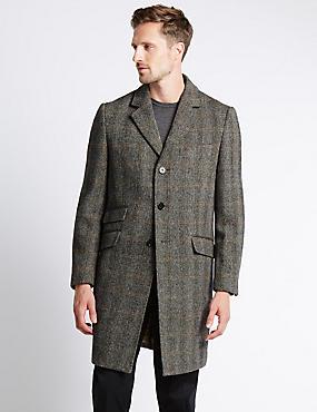 Pure Wool Coat, NEUTRAL, catlanding