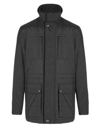 Lightly Padded Water Resistant City Parka with Stormwear™ Clothing