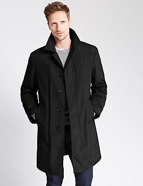 Classic Stormwear™ Mac with Removable Liner , BLACK, catlanding