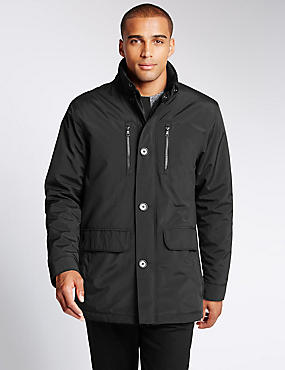 Modern Jacket with Stormwear™, BLACK, catlanding