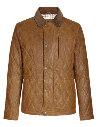 Suede Quilted Shooting Jacket with Thinsulate™ Clothing