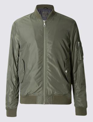 Куртка-бомбер Stormwear™ однотонная на резинке Limited Edition T166217Q