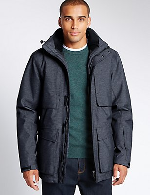Inner Removable Jacket with Thinsulate™, NAVY MIX, catlanding