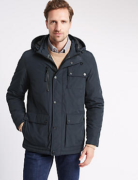 Urban Parka with Stormwear™, NAVY, catlanding