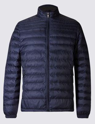 Стёганая принтованная куртка Stormwear™ M&S Collection T166479M