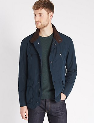 Lightweight Jacket with Stormwear™, NAVY, catlanding