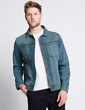 Denim Jacket, DENIM, catlanding