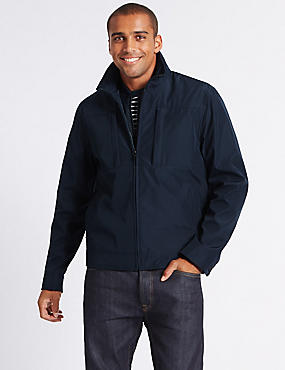 3 in 1 Harrington Jacket with Stormwear™, NAVY, catlanding