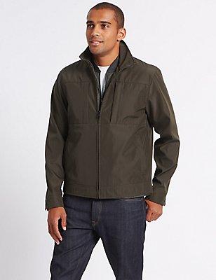 3 in 1 Harrington Jacket with Stormwear™, DARK BROWN, catlanding