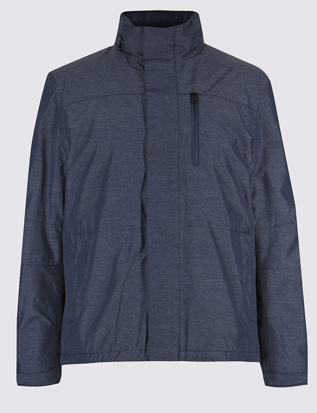 Fleece Lined Jacket with Stormwear™ | M&S