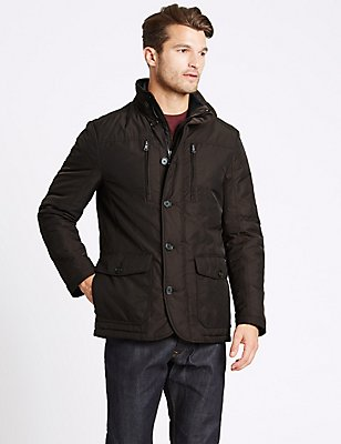 Jacket with Stormwear™ & Thinsulate™, CHOCOLATE, catlanding