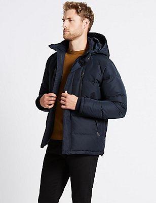 Jacke mit Kapuze und Stormwear™, MARINEBLAU, catlanding