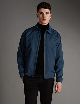 Super Lightweight Harrington Jacket with Stormwear™ , TEAL, catlanding