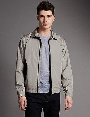Super Lightweight Harrington Jacket with Stormwear™ , NEUTRAL, catlanding