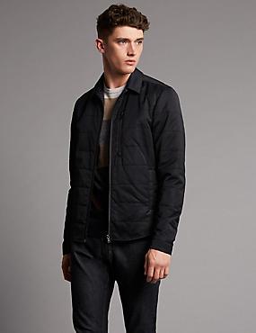 Veste style chemise moderne, dotée de la technologie Stormwear™, DARK NAVY, catlanding