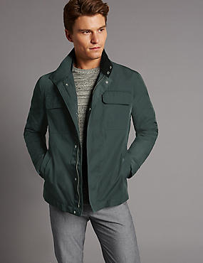 Jacket with Stormwear™, FOREST GREEN, catlanding