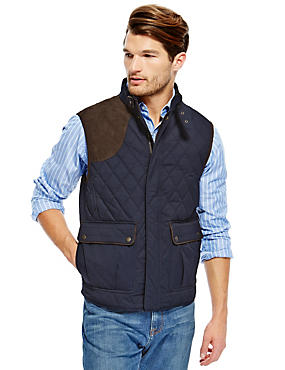 Cotton Rich Gilet with Thinsulate™ & Stormwear™
