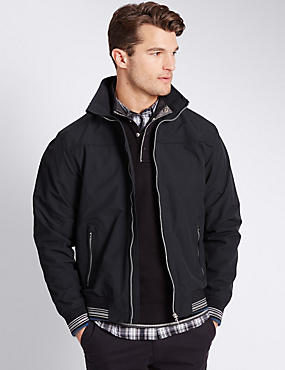 Windproof Bomber Jacket with Stormwear™, , catlanding