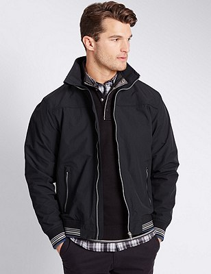 Windproof Bomber Jacket with Stormwear™, , catlanding