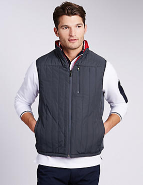 Quilted Reversible Gilet with Stormwear™