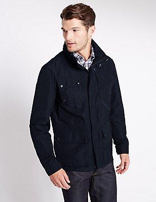 Lightweight Jacket with Stormwear™, NAVY, catlanding