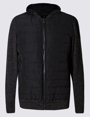 Слегка приталенная куртка бомбер с технологией Stormwear™