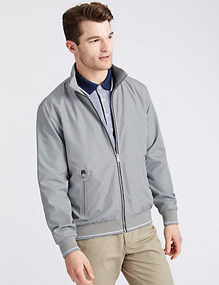 Bomber Jacket with Stormwear™, NEUTRAL, catlanding