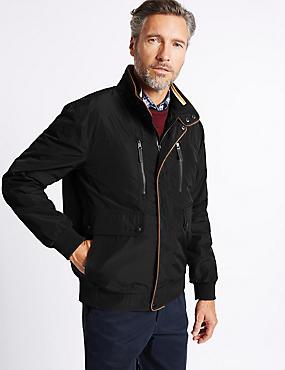 Blouson d'aviateur, doté de la technologie Stormwear™, NOIR, catlanding