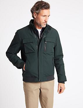 Sailing Jacket with Stormwear™, DARK GREEN, catlanding