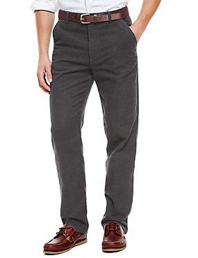 Cotton Rich Italian Moleskin Trousers