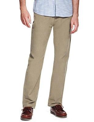 Stretch Cotton Italian Moleskin Jeans, LIGHT BROWN, catlanding