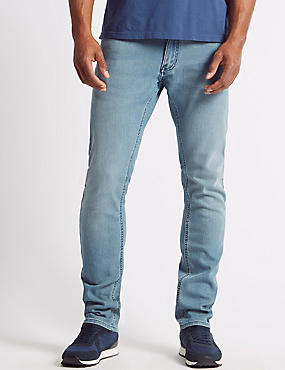 Slim Fit Stretch Jeans, , catlanding