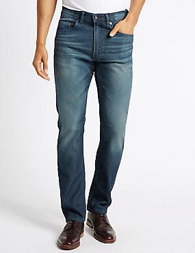 Slim Fit Stretch Jeans, TINT, catlanding